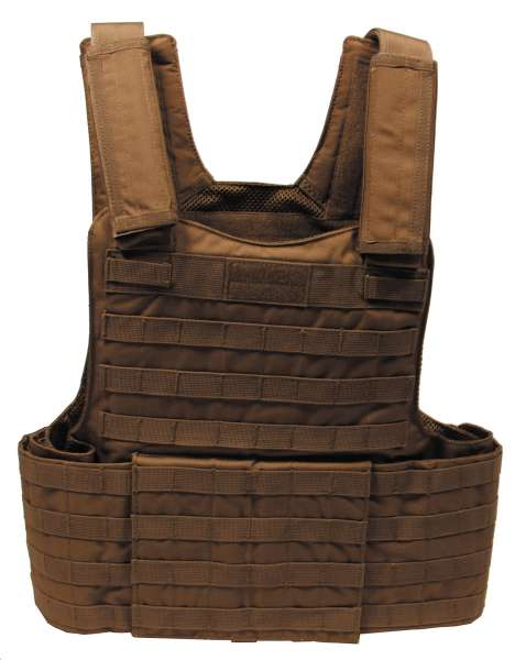 """Weste """"Molle II"""" mit Futter Modular System coyote tan"""