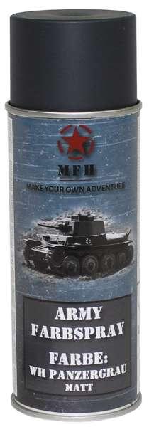 """Farbspray """"Army"""" WH PANZERGRAU matt 400 ml"""