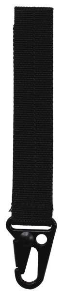 Schlüsselhalter Tactical I schwarz 12 cm