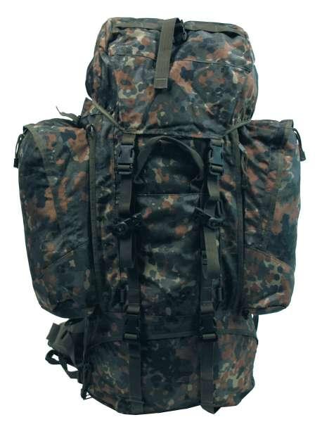 """Rucksack """"Alpin110"""" flecktarn 2 abnehmbare Seitentaschen"""