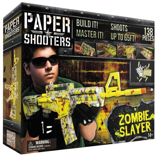 "PAPER SHOOTERS, Bausatz, ""Tactician Zombie Slayer"""