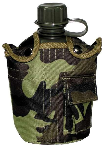 US Plastikfeldflasche 1 l Hülle M 95 CZ tarn BPA-frei