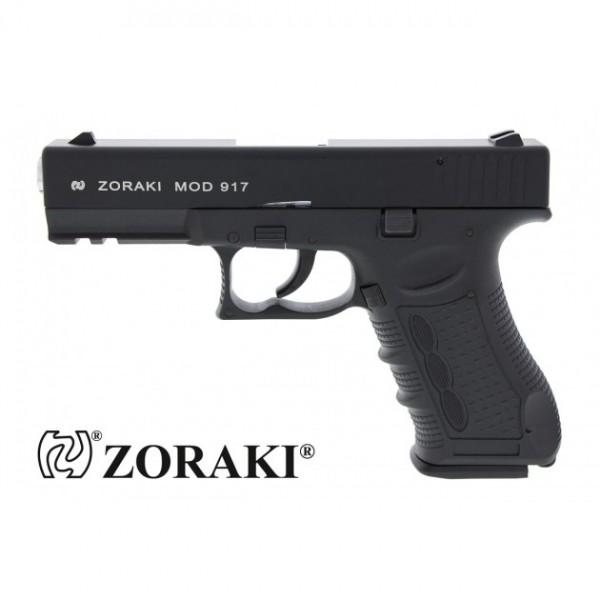 Zoraki 917 Schreckschuss Pistole 9 mm P.A.K. schwarz/chrom