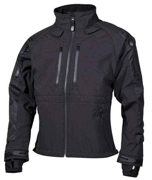 Soft Shell Jacke Protect schwarz