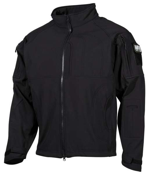 Soft Shell Jacke Liberty Sharkskin schwarz