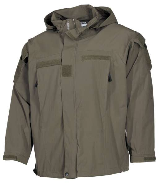 US Soft Shell Jacke oliv GEN III Level 5