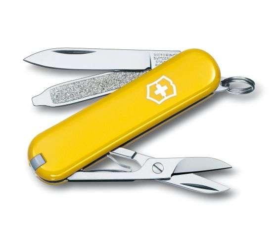 Kleines Taschenmesser Classic SD gelb