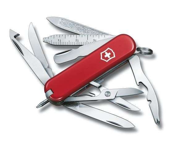 Kleines Taschenmesser MiniChamp rot