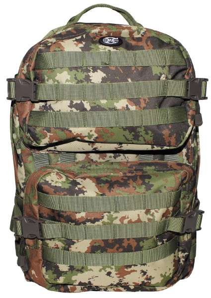 US Rucksack Assault II vegetato