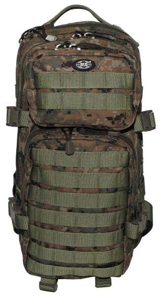 US Rucksack Assault I digital woodland