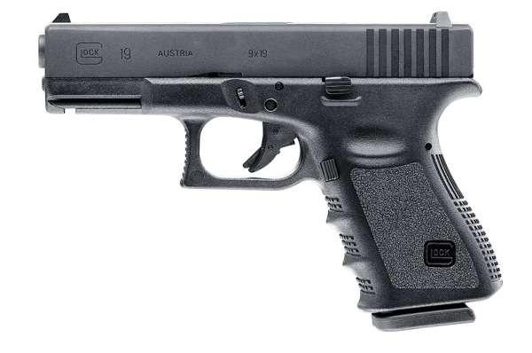 Glock 19 Softair Seitenansicht