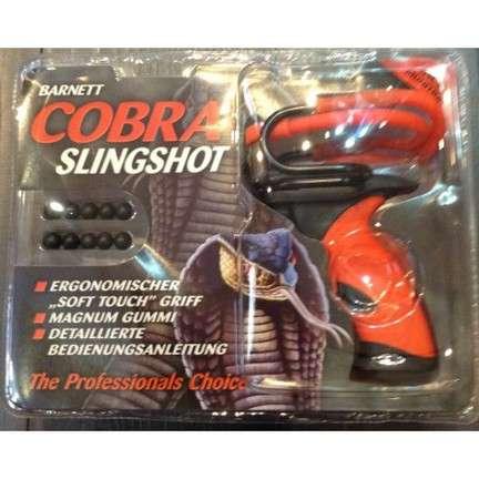 Barnett Schleuder Cobra Slingshot schwarz rot