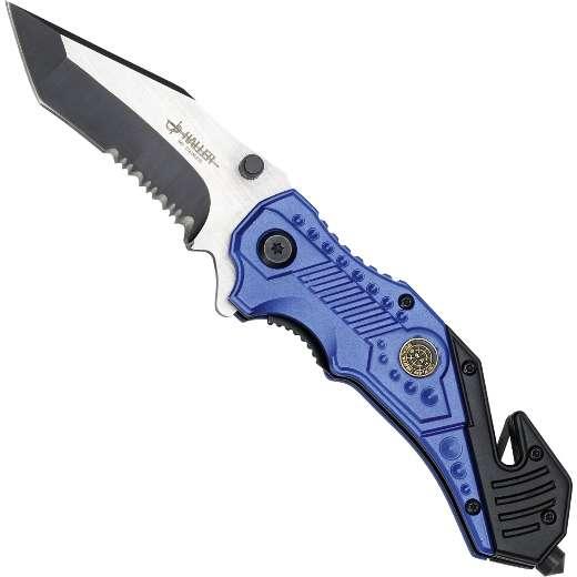 Haller Rescue VI Taschenmesser Blue