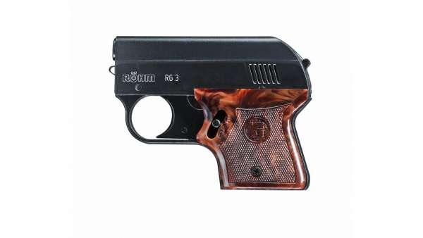 Röhm RG3 Schreckschuss Pistole 9 mm P.A.K. bicolor