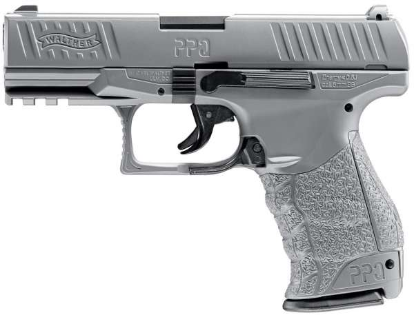 Walther PPQ HME Softair pistole 6 mm BB Metal grey