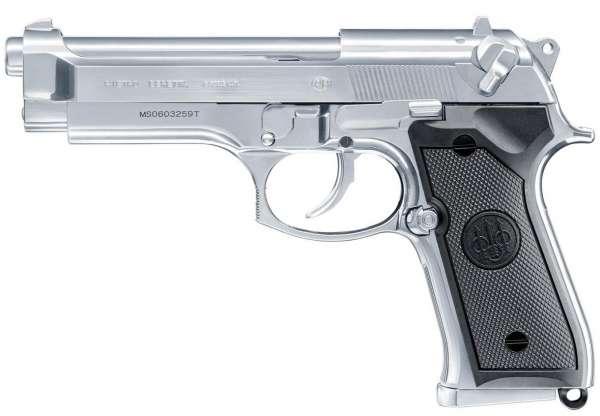 Beretta M92 FS INOX Softair Pistole 6 mm BB