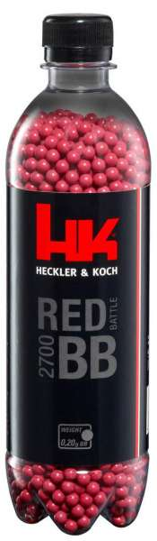 Heckler & Koch 2700 BB´s 0,20g Premium Selection rot