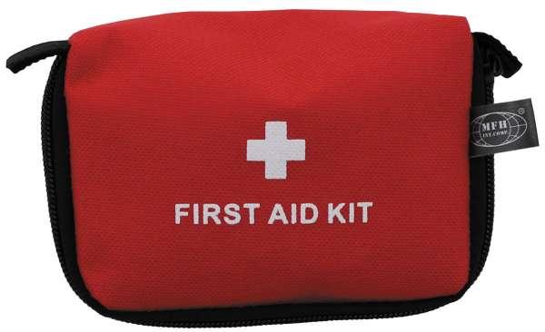 Erste-Hilfe-Set klein rot 14 x 9 x 5 cm