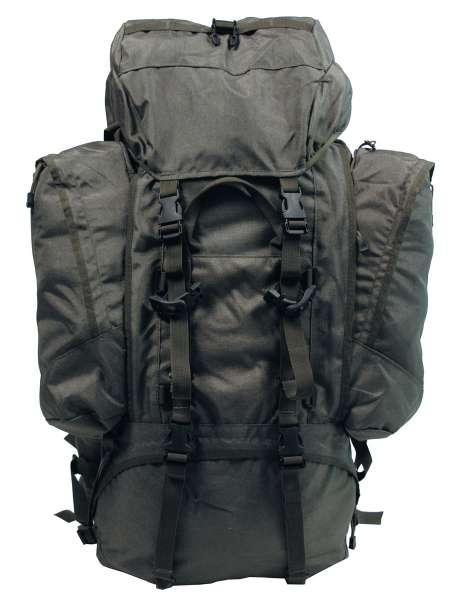 """Rucksack """"Alpin 110"""" oliv 2 abnehmbare Seitentaschen"""