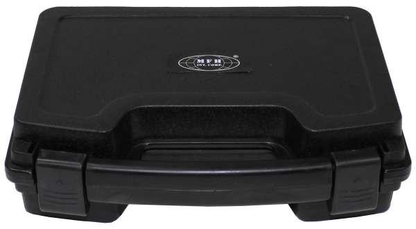 Pistolen-Koffer Kunststoff klein abschließbar schwarz