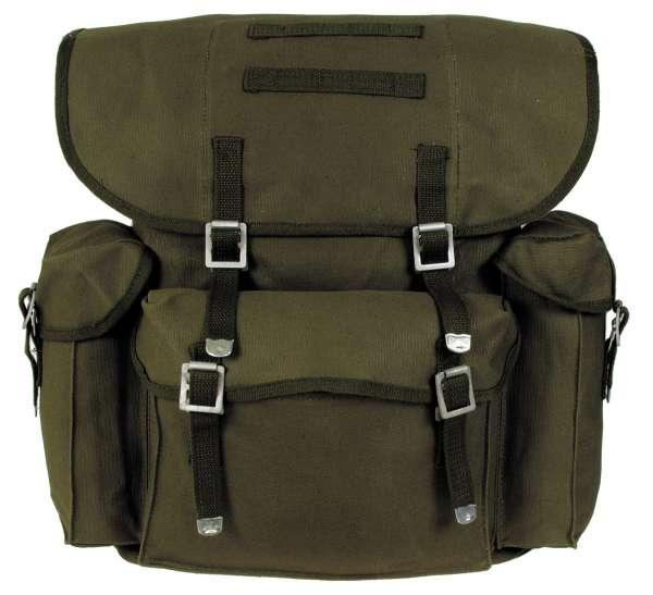 BW Rucksack Mod. oliv mit Träger (wie BW Packtasche)