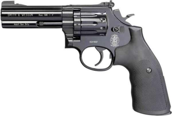 "Smith & Wesson 586 CO2 Revolver 4"" brüniert"
