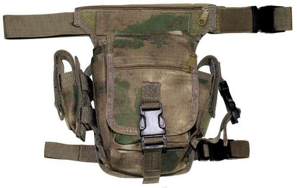 Hip Bag HDT-camo FG Bein- und Gürtelbefestigung