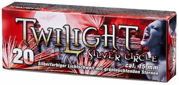 Umarex Twilight Silver Circle Signaleffekte für Schreckschusswaffen 20 Schuss