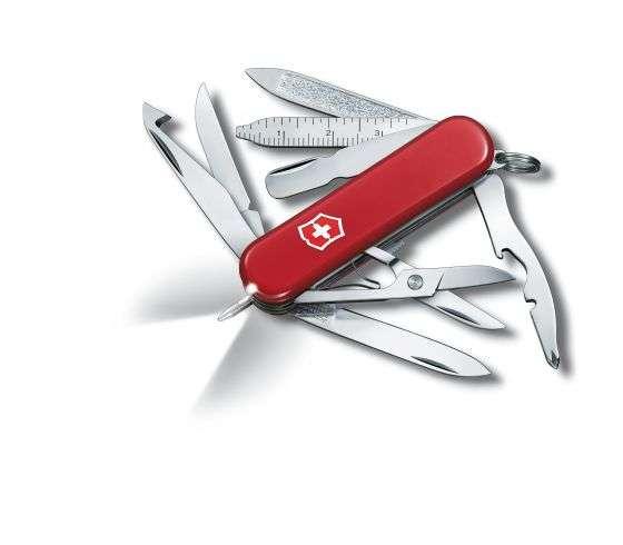 Kleines Taschenmesser Midnite MiniChamp rot mit LED