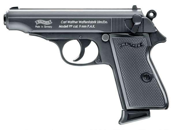 Walther PP Schreckschuss Pistole 9 mm P.A.K. schwarz