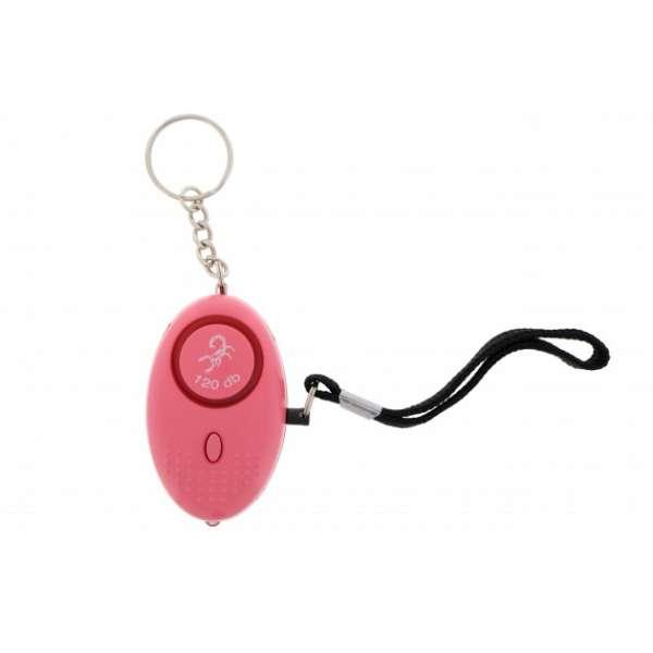 Scorpion Mini Personenalarm 120 db pink
