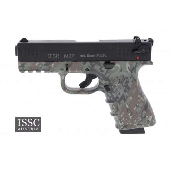 ISSC M22 Schreckschuss Pistole 9 mm P.A.K. digital camo