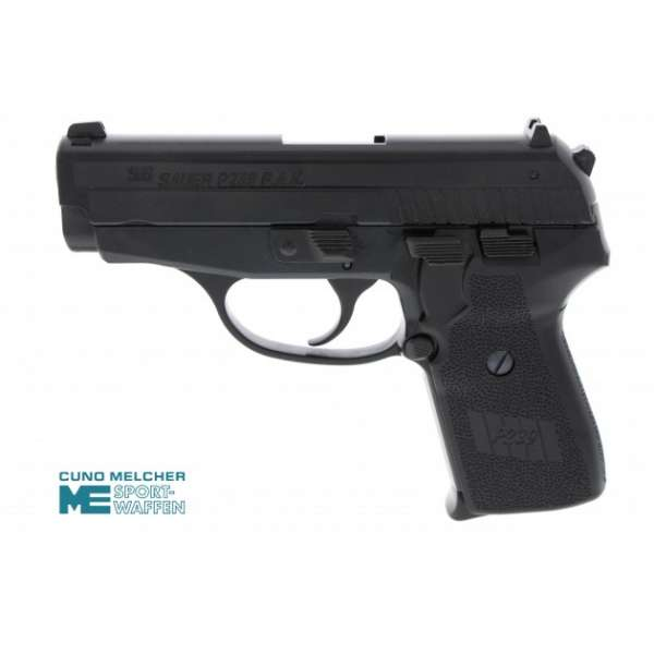 Sig Sauer P239 Schreckschuss Pistole 9 mm P.A.K. brüniert
