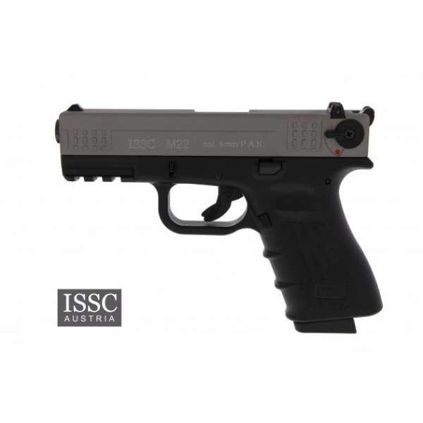 ISSC M22 Schreckschuss Pistole 9 mm P.A.K. titan