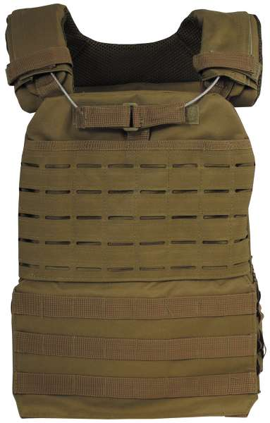 "Tactical Weste ""Laser Molle"" coyote tan"