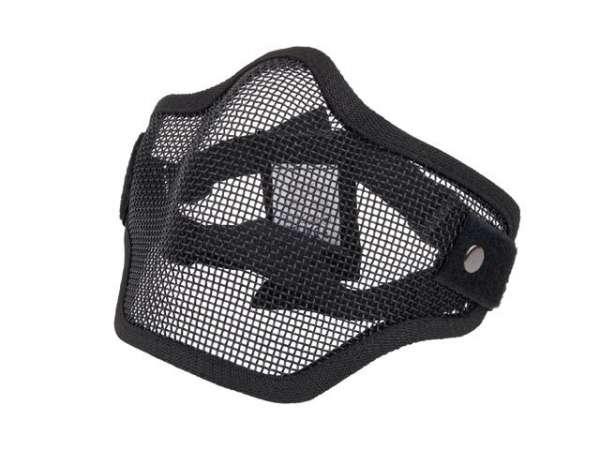 Gittermaske schwarz