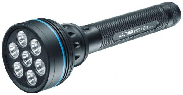 Walther PRO XL7000r LED Taschenlampe 2200 Lumen