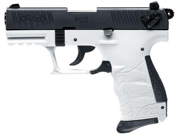 Walther P22Q Schreckschuss Pistole 9 mm P.A.K. Chess