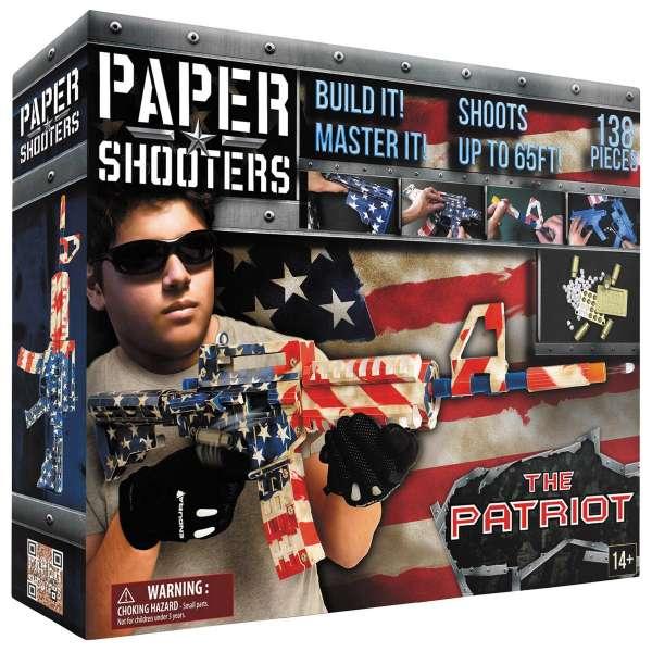 """PAPER SHOOTERS, Bausatz, """"Tactician Patriot"""""""