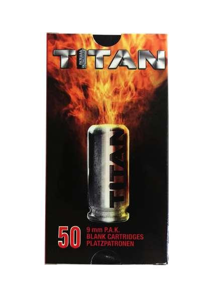 Perfecta Titan Platzpatronen 500 Schuss 9 mm P.A.K.