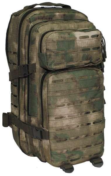 US Rucksack Assault I Laser HDT-camo FG