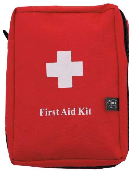 Erste-Hilfe-Set groß rot MOLLE 18 x 12 x 7 cm