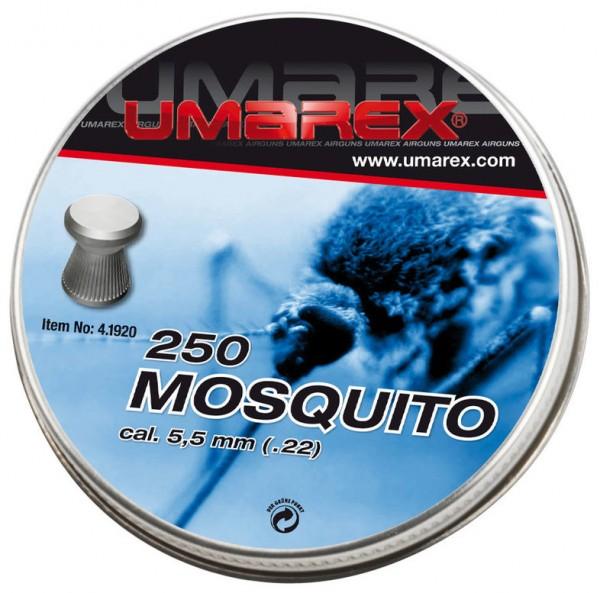 Umarex Mosquito Flachkopf Diablos 5,5 mm 250 Stück