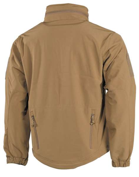 Soft Shell Jacke Scorpion coyote tan