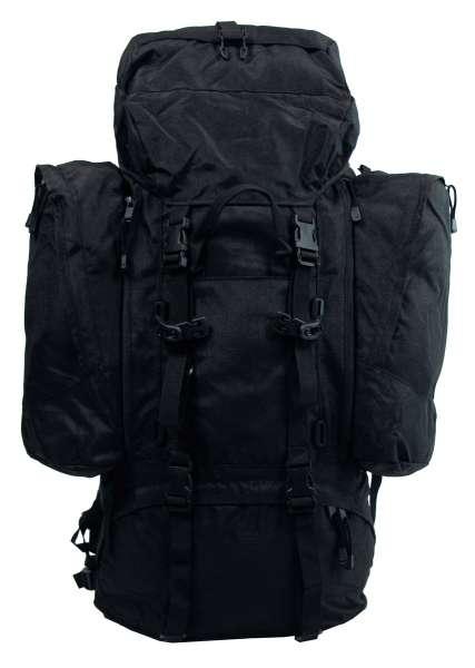 """Rucksack """"Alpin 110"""" schwarz 2 abnehmbare Seitentaschen"""