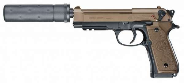 Beretta M92 A1 Tactical Softair tarn