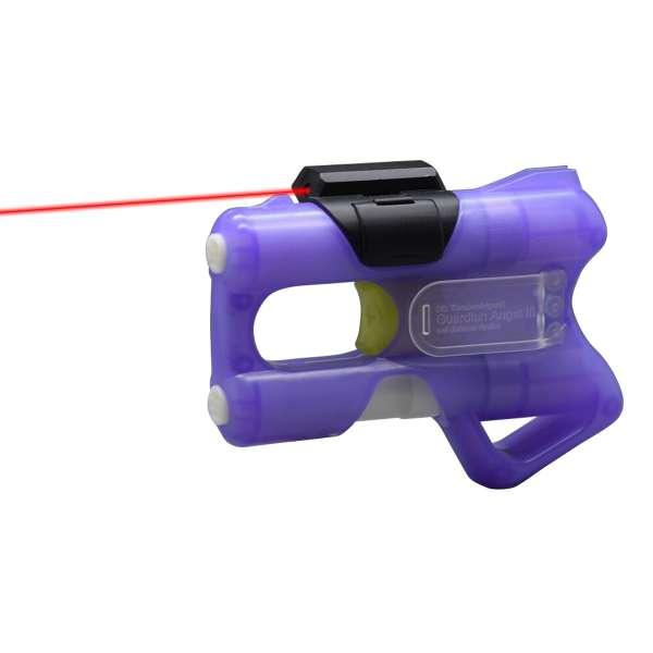 Set Guardian Angel 3 Pfefferpistole purple mit Laseraufsatz