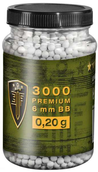 Elite Force 3000 BB´s 0,20g Premium Selection weiß