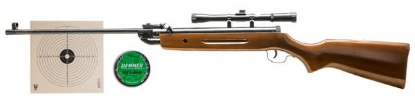 Sparset! Perfecta Mod. 32 Luftgewehr 4,5 mm Diabolo inkl. Zielfernrohr, Diabolos u. Zielscheiben