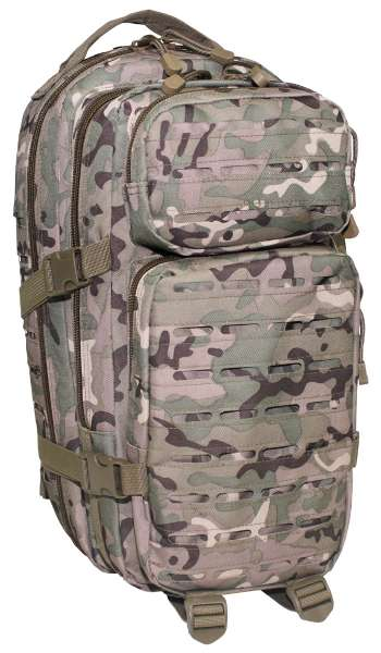US Rucksack Assault I Laser operation-camo